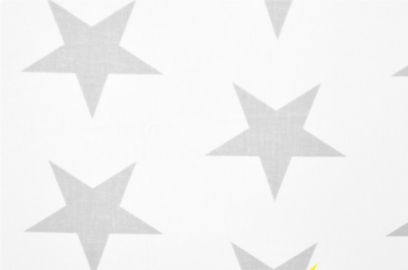 bawełna Big stars biało szare p1