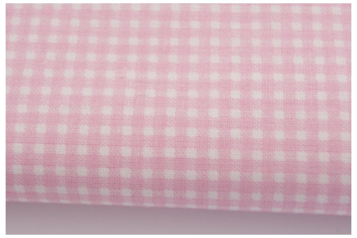 bawelna rozowa mala krateczka